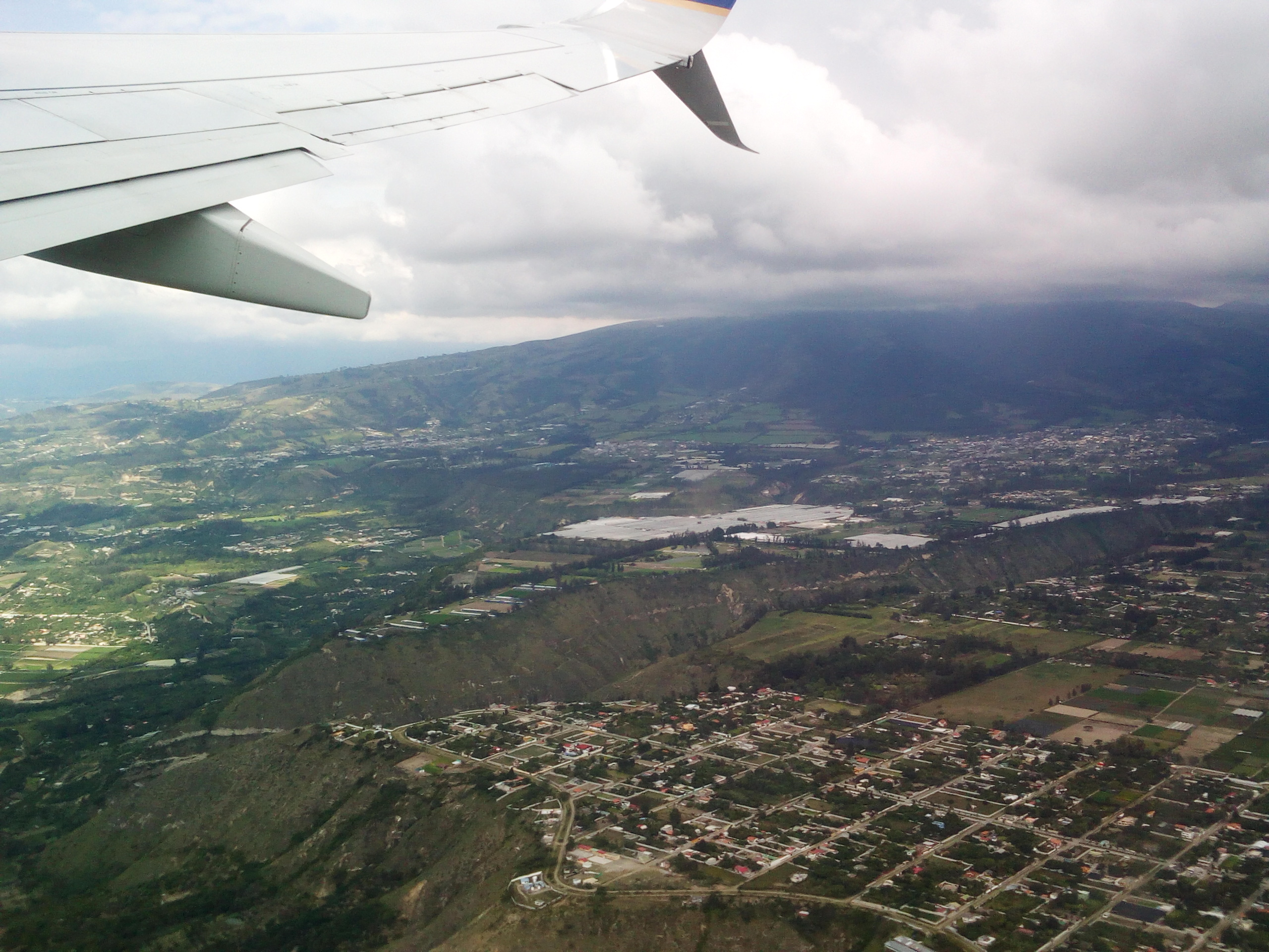 TO from quito UIO